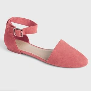 NWT GAP ANKLE STRAP D'ORSAY FLATS